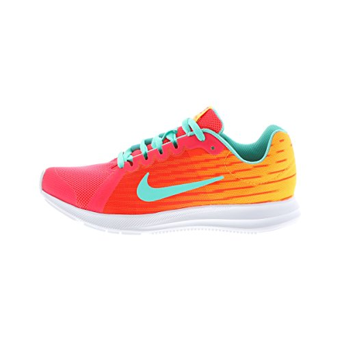 Nike Kids' Grade School Downshifter 8 Fade Running Shoes (5 Red/Green) Ships Directly from