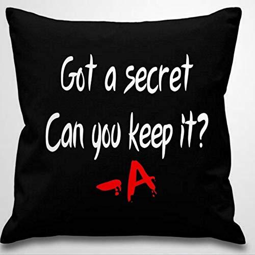BYRON HOYLE GOT A Secret CAN You Keep IT A Pretty Little Liars Cotton Linen Pillowcase Throw Pillow Cover Cushion Cover Home Decor 18x18 Inch