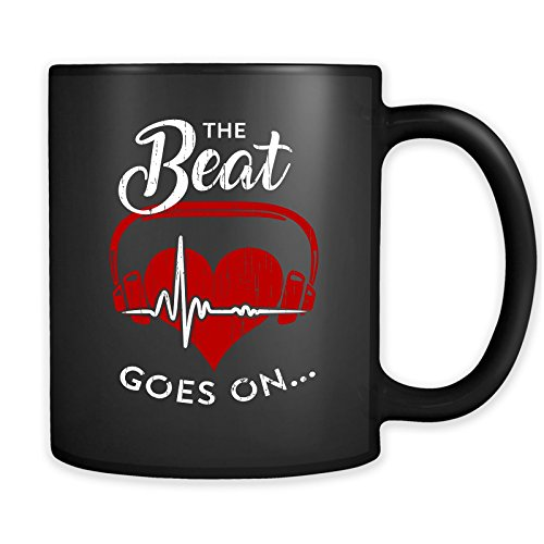 The Beat Goes On Heart Attack Stroke Survivor Gifts Mug - Get Well Soon Coffee Cup