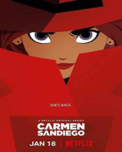 Carmen Sandiego - Poster de Calidad - cm. 30x40