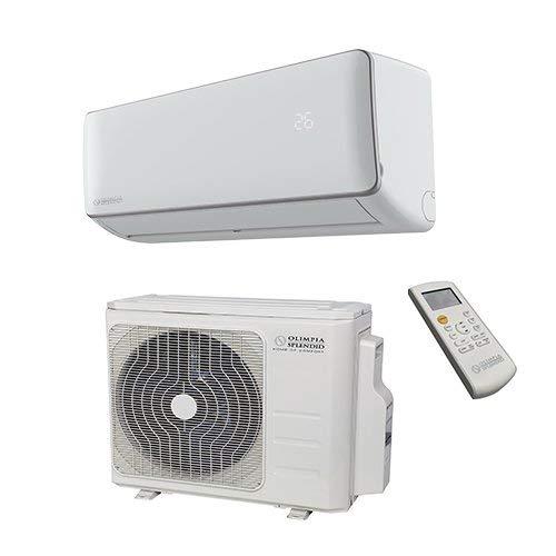 Olimpia Splendid Climatiseur Fixe Inverter 12.000 BTU/h avec Pompe à Chaleur et Wi-Fi Control Intégré avec Smartphone, Aryal S1 E Connect 12, Classe énergétique A++ / A+
