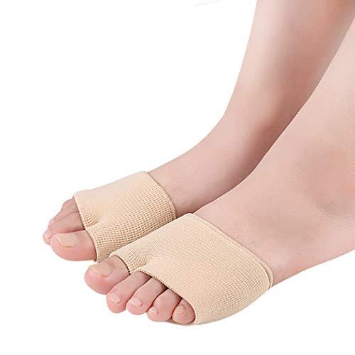 Vorfußbandage gepolstert, Schmerzlinderung und Druckentlastung bei Metatarsalgie, Spreizfuß, Ballenschmerzen, verhindert Schwielen im Vorfuß