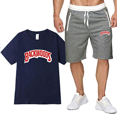 Camiseta De Verano Unisex Backwoods Moda Al Aire Libre Deportes De Ocio Traje De Manga Corta Camiseta De Ocio Unisex XL