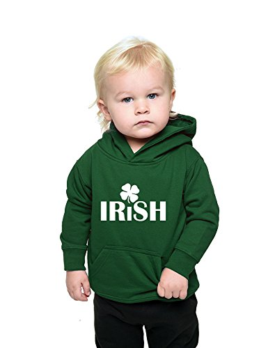 Infant Fleece Hooded Pullover-Irish with Clover,...