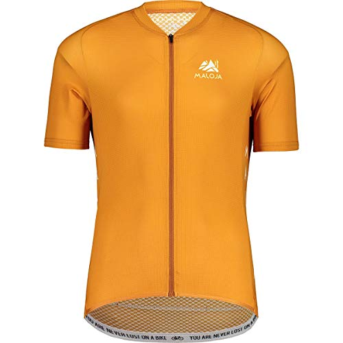 Maloja Herren Tornm. 1/2 Breeze Unterhemd, Tiger, M