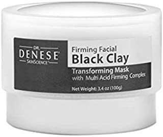 Sponsored Ad - Dr. Denese SkinScience Firming Black Clay Mask Mineral Rich Detoxifying Volcanic Mask, Alpha & Beta Hydroxy...