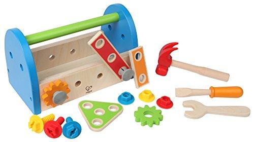 Hape HAP-E3001 Fix-It Tool Box - Multicolor