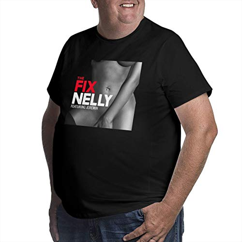 WYeter Nelly The Fix Big Size Men's Classic Tshirt Black XL
