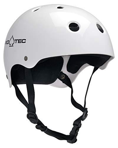 PRO-TEC(プロテック) CLASSIC SKATE (クラシックスケート) ヘルメット BMX&SKATE (XXLサイズ,ホワイト) 121230207