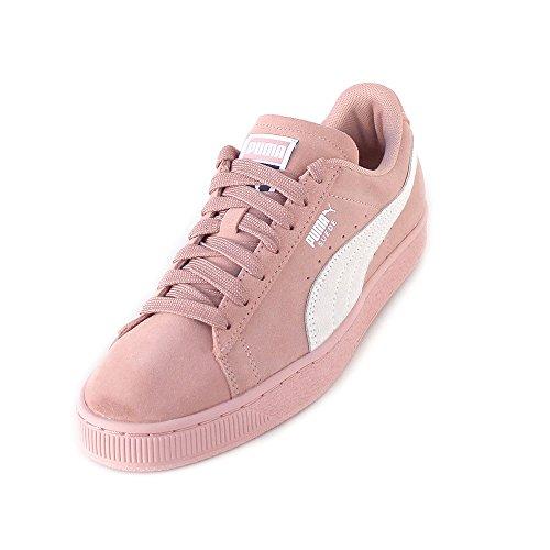 Puma Damen Suede Classic Sneaker Mehrfarbig (Peach Beige-Puma White) , 37 EU