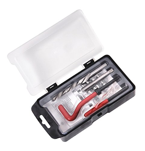 Spttools hélicoïdales Coil Outil de réparation de filetage M6 x 1.0 x 8.0 mm