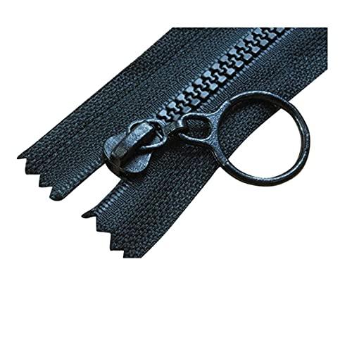 Cremalleras de nylon bobina cremalleras cremalleras, cremallera gruesa, 10pcs resina cremallera 25 cm cerrado 60 cm Zippers de extremo abierto for Bricolaje Artesanía de coser accesorios de ropa roja,