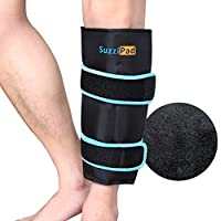 SuzziPad Reusable Gel Cold Pack Wrap for Leg Pain Relief