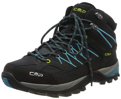 CMP – F.lli Campagnolo Herren Rigel Mid Shoe Wp Trekking-& Wanderstiefel, Blau (Antracite-RIF 25TE), 42 EU