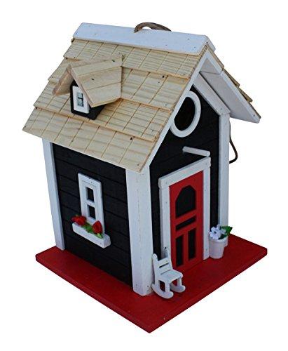 Fachhandel Plus Vogelhaus Nistvilla Vogelvilla Nisthaus Nistkasten Vogelhäuschen Nisthöhle schwarz