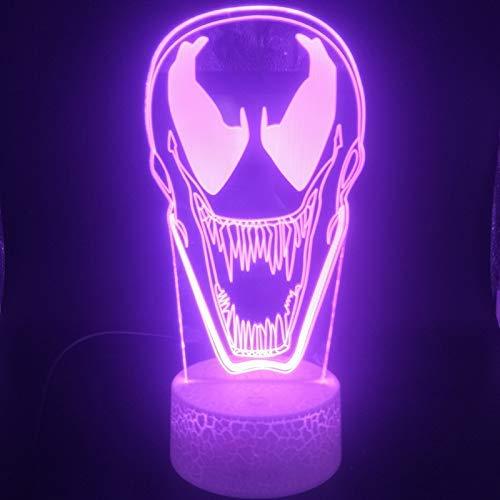 Augentropfen Anti Venom 3D Licht Nachtlichthalter Powered Interieur Usb Nachtlicht Led Licht