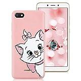 ZhuoFan Xiaomi Redmi 6A Case, Phone Cases Pink Liquid