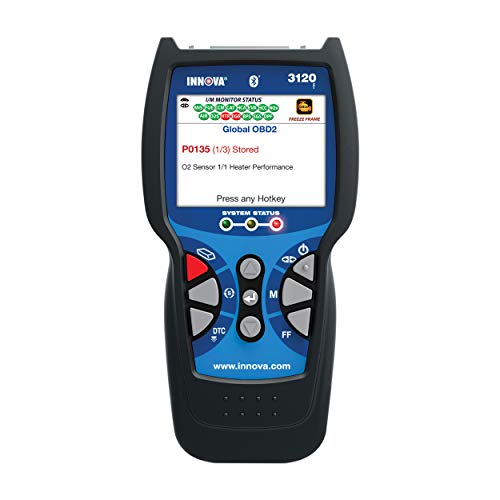Innova 3120f OBD2 Scanner / Car Code Reader with OBD1 scanning, ABS, Battery Reset and Service Light Reset