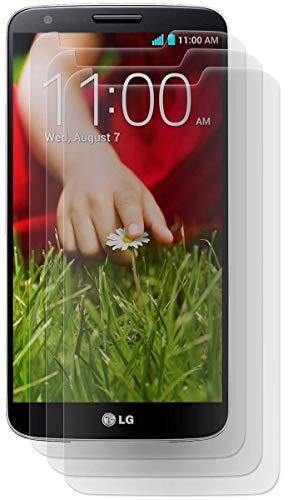 ENERGMiX MATT Folie 3 Stück kompatibel mit LG G2 D802 // Bildschirmfolie Schutzfolie Folie Anti-Glare