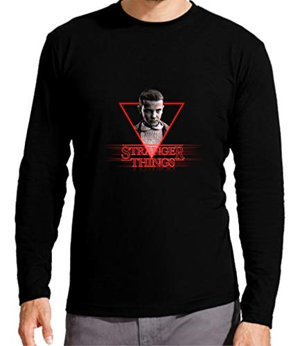 Camiseta Manga Larga de NIÑOS Stranger Things Eleven 11 El