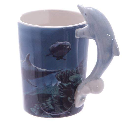 Puckator Kaffeetasse, Keramik, Bunt, normal