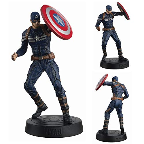 Avengers - Estatua de Resina Capitán América 140mm