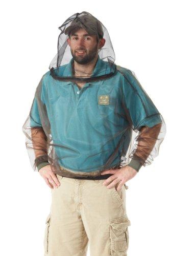 Bug Baffler Insect Protective Mesh Shirt, Olive, XX-Large