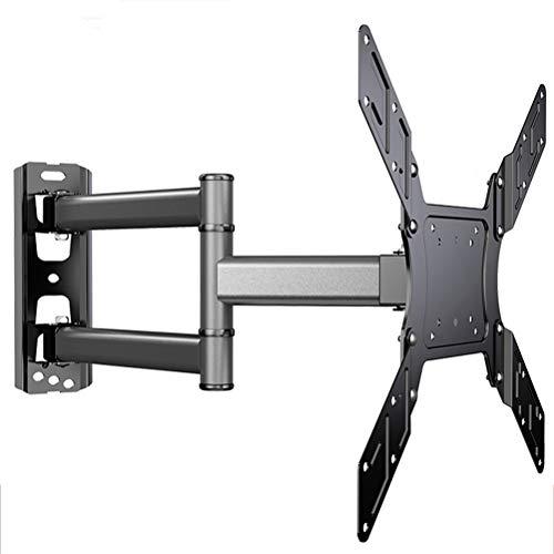 Release Liberación Soporte de Monitor Universal de 3 Brazos Panel LCD Soporte de TV montado en la Pared Tamaño de Soporte 26'-50' Carga de hasta 40 kg