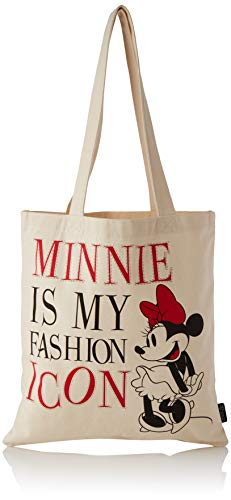 Mickey Mouse 2100002892, Bolso Asas Algodón Minnie Unisex niños, Multicolor, Standard