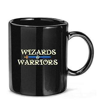 Wizards Warriors  NES Title Screen  Coffee Mug for Women and Men Tea Cups