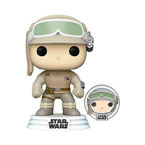Funko 55483 POP Star Wars ATG- Luke Skywalker w/Pin , Amazon Exclusive