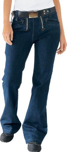 OYSTER Damen Zunfthose Lore Stretch Jeans, Größe 42, blau