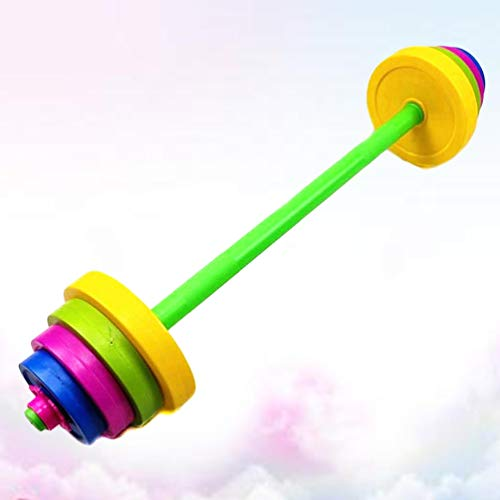 VOSAREA Dumbbells Weight for Kids Adjustable Dumbell Barbell Toy Exercise Equipment for Gym Home Fitness
