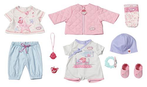 Zapf Creation 703267 Baby Annabell Kombi Set Puppenkleidung 43 cm, 12-teiliges Set...