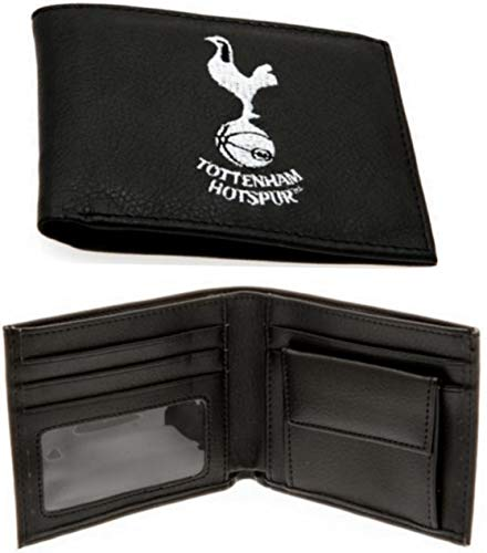 Tottenham Crest Embroidered PU Leather Wallet - Multi-Colour