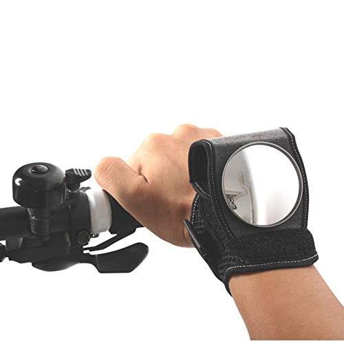 huayunxuan Fahrrad Spiegel Rückspiegel für Radfahrer Fahrrad Zubehör,Motorradlenker Reflektor Armband für das Handgelenk, Sicherheit Handgelenk Spiegel für Pendler und Kinder, Geschenk Gadget