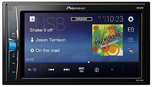 Pioneer MVH-A100V Multimedia-Display, Schwarz