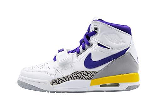 Nike Jungen Air Jordan Legacy 312 (gs) Fitnessschuhe, Mehrfarbig (Hyper Jade/Bright Blue/Arctic Orange 348), 36.5 EU