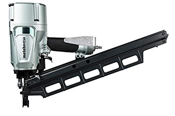 Metabo HPT Pneumatic Framing Nailer   2-Inch up to 3-1/4-Inch Plastic Collated Full Head Nails   Tool-less Depth Adjustment   21 Degree Magazine   Selective Actuation Switch   5-Year Warranty  NR83A5