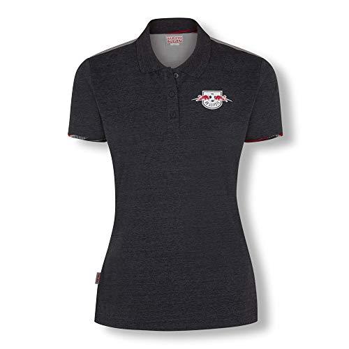 RB Leipzig Blizzard Polo Hemd, Blau Damen Large T Shirt, RasenBallsport Leipzig Sponsored by Red Bull, Original Bekleidung & Merchandise