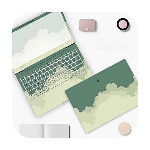 Peach-Girl Simple Colour PVC Laptop Sticker for Dell Xps 13 Lenovo Yoga 720 Acer An515 52 HP 15.6 14 Thinkpad – D-791-17 Inch