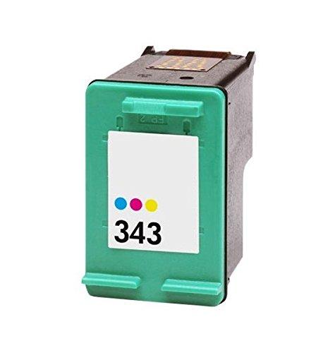 Cartucho Tinta Compatible para HP 343 XL / C8766EE Tricolor 19ml T90