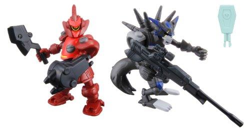 The Little Battlers - LBX Battle Custom Figure Set LBX Deku OZ & LBX Hunter Kiba (Completed Figures Set)
