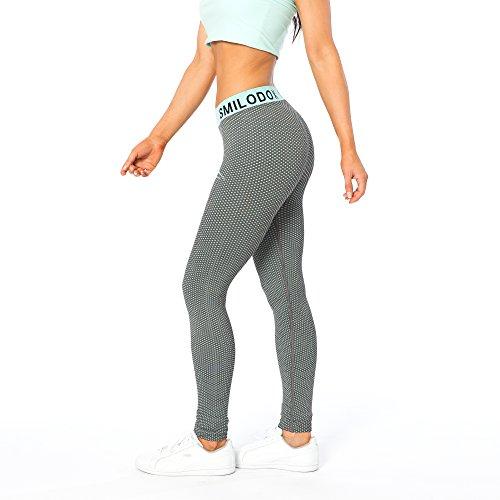 SMILODOX Sport Leggings Damen | Seamless - Figurformende Leggings für Sport Fitness Gym Training & Freizeit | Sporthose - Workout...