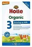 Holle Organic Infant Formula Stage 3 Baby Milk, 600g