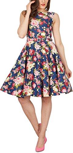 'Audrey' Vintage Divinity Kleid im 50er-Jahre-Stil - 8