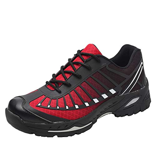 Zapatillas de Seguridad para Hombre Mujer Transpirables Calzado de Trabajo Ligeras con...