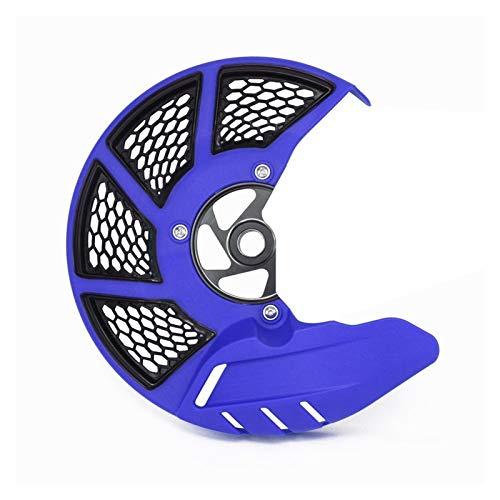Gzcfesbn Protector de Disco Delantero de la Motocicleta for KTM Exc excuc XC sx sxf XC xcf 125-505 Durable (Color : Blue)