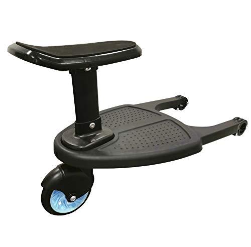 zanasta Junta Buggy para cochecitos, Paseo-a Bordo, pie de Cama con el Asiento de hasta 25 kg KiddyBoard Azul