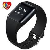 Mpow Smart Watch Cardiofrequenzimetro IP67, Braccialetto Fitness Tracker 1.0''...